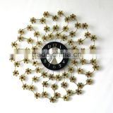 modern design wall decoration clock/metal wall clock