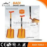 ergonomic T handle aluminum telescopic snow shovel