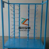 Steel Metal Customized Stacking Frame Spray Paint Color Rack