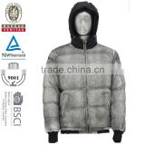 2014 latest design men softshell black and white varsity straight jacket