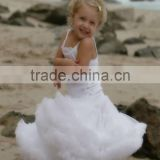 Adorable baby boutique clothing princess ballet tutu fluffy pettiskirt girls smcoked ruffle chiffon boutique skirt