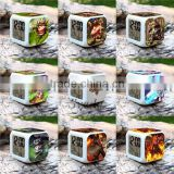 (Top) Sveda Hot selling LED clock League of Legends designs, cheap price alarm clocks, OEM digital alarm clocks