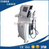 more powerful 4 in 1 hair removal e-light opt ipl shr rf nd yag laser multifunction beauty machine