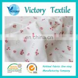 Super Soft 100% Cotton Printed Knitted Interlock Fabric