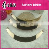 2015 u shaped metal bar for accessories decoration/garment accessories