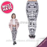 Mandala black sport custom crossfit hot wholesale fashion workout jogging sale muscle pants 3d tight tights woman leggings