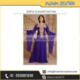 Simple Elegant Kaftan Available for Fashion Events