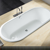 1.6 meters manufacturer direct selling cast iron bathtub/cast iron enamelled bathtub embedded.