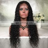Wholesale Natural Brazilian Lace Front Wig Long Glueless Human Hair Kinky Curly Full Lace Wigs For Black Women