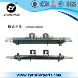 Proton spare parts German type rear axle shaft