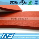 red closed cell foam 3mm rubber sheet