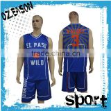 Custom reversible sublimation team basketball jersey design                                                                                                         Supplier's Choice