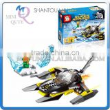 Mini Qute Senye Marvel Avenger super hero Batman Fighter plane chariot building block action figures educational toy NO.SY 301