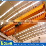 QD type steel wheel trolley overhead crane,steel type Q235