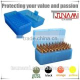 bullet mold Plastic ammunition case plastic ammo storage case for blank ammunition (TB-908)