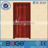 BG-A9018 exterior steel security door/single leaf wooden door/single leaf wooden armored door