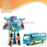 New 2014 Edition Genuine 24cm Transformation Robots Action Figures Classic Toys For Boy's Gifts Robot Change into Bus