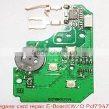 renault megane card repair pcb set(w/o pcf7947 )