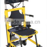 Disable Electric Evacuation Chair Yellow stair climbing wheelchair Steel climbing wheelchair