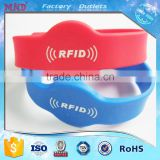 MDW18 Cheap Popular Silicon RFID Wristband, Colorful Waterproof Silicone RFID Bracelets Tag