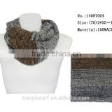 magic scarf china winter warm knited acrylic infinity tube scarves