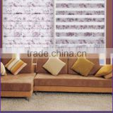 Sunscreen Printed Roller Blind Adjustable Polyester Shading Zebra Blind
