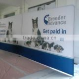 tension fabric wall trade show booth 8ft 10ft foldable booth