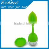 Eco -friendly silicone green tea infuser for amazon                                                                         Quality Choice