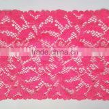 High Quality Jacquard Lace Trim Mesh Lace Fabric for Color