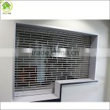 Aluminum and steel Commercial roll up door / storefront security grilles/rolling grill gates                                                                         Quality Choice