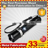 Rechargeable police led torch flashlight