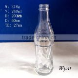 240ml soda glass bottle preforms fruit juice glass bottle 8 ounce beverage glass bottle wholesale