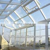 beautiful cost-efficient prefabricated bungalow glass house with aluminum alloy                                                                         Quality Choice