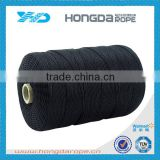 Black color Polyester high tenacity thread