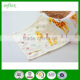 Plain cloth grid square towel,printed flour sack towels