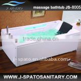 Computer control panel bathtub enclosure JS-8003