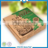 Roland Printing Machine Pizza Paper Package Custom, Printed Pizza Packaging Paper Box, Paper Pizza Packaging Box Wholesale