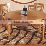 wooden round dining table set with chairs Solid Wood Dining Table and Chairs Cheap Round Folding dining room sets