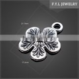 12943-980 retro zinc alloy jewelry mold parts of the ancient silver flower accessories
