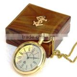Solid Brass Nautical Gift Compass - Ship time keeper pocket Compass 13506