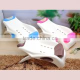 2016 Newest small shampoo chair plastic baby folding shower chair