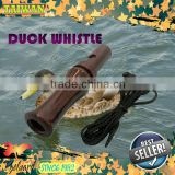 Double Reed PP Duck Wood Pattern Whistle/Game call/Mallard Call