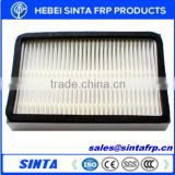 Fiber air conditioning filters