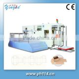 Die creasing machine Yinghe for paper package ,cardboard box ..