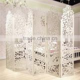 Special promotion indoor movable room dividers Screen