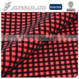 Jiufan Textile Hot Sale Polyester Spandex Ponte Roma Flocking Fabric For Garment Stock Lot