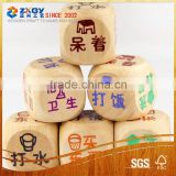 new style dice set/ wood dice game set/wood dice