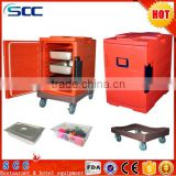 mobile food carts in kitchen equipments for restaurants food warmer PU insulation box