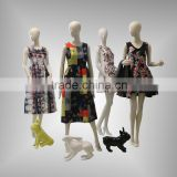 Newest design full body headless female mannequin for clothes display