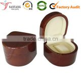 China supplier wholesale all kinds shape watch gloss wooden box holder                                                                         Quality Choice